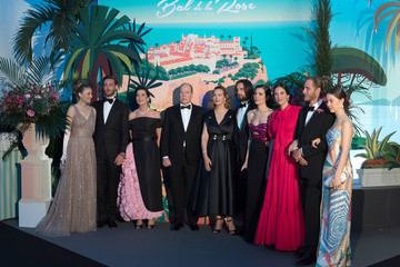 Charlotte Casiraghi Prince Albert Ii Rose Ball 2019 To Benefit The Princess Grace Foundation In Monaco