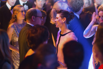 Charlotte Casiraghi Prince Albert Ii Rose Ball 2015 In Aid Of The Princess Grace Foundation In Monaco