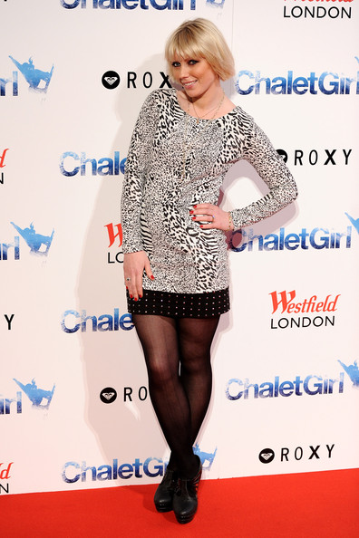 Charlotte Dutton Model Charlotte Dutton attends the UK Film Premiere of 'Chalet Girl' at Vue Westfield on February 8, 2011 in London, England.