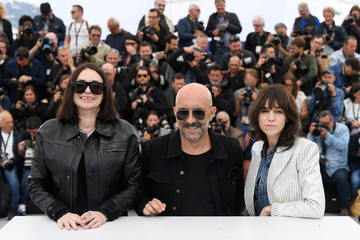 Charlotte Gainsbourg Beatrice Dalle 'Lux Aeterna' Photocall - The 72nd Annual Cannes Film Festival