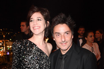 Charlotte Gainsbourg Yvan Attal Kering and Cannes Festival Official Dinner : Cocktail at the 70th Cannes Film Festival