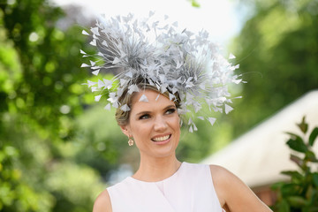 Charlotte Hawkins Royal Ascot 2017 - Day 4