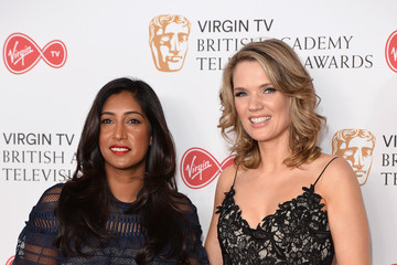 Charlotte Hawkins Virgin TV BAFTA Television Awards - Winner's Room