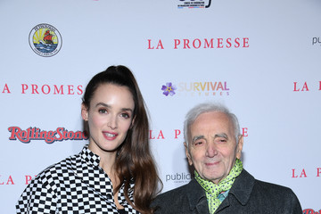Charlotte Le Bon 'The Promise - La Promesse' Paris Premiere at Cinema Publicis