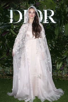 Charlotte Le Bon Dior Ball: Photocall In Madrid