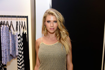 Charlotte McKinney Diane Von Furstenberg Supports National Multiple Sclerosis Society with Jamie Lynn Sigler, Alison Kay, and Anne Marie Kortright