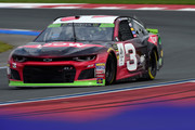 Austin Dillon, driver of the #3 Dow Chevrolet, drives during practice for the Monster Energy NASCAR Cup Series Bank of America Roval 400 at Charlotte Motor Speedway on September 28, 2018 in Charlotte, North Carolina.