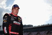 Ryan Newman, driver of the #31 Grainger/American Red Cross sChevrolet, stands on the grid  during qualifying for the Monster Energy NASCAR Cup Series Bank of America Roval 400 at Charlotte Motor Speedway on September 28, 2018 in Charlotte, North Carolina.