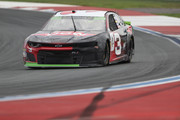 Austin Dillon, driver of the #3 Dow Chevrolet, drives during practice for the Monster Energy NASCAR Cup Series Bank of America Roval 400 at Charlotte Motor Speedway on September 29, 2018 in Charlotte, North Carolina.