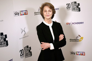 Charlotte Rampling The South Bank Sky Arts Awards - Winner's Room