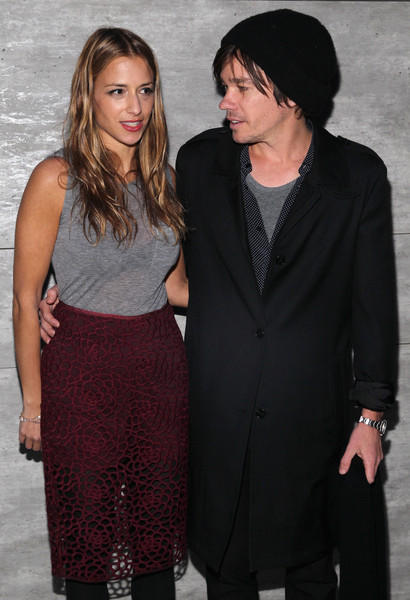Charlotte Ronson and Nate Ruess in a romantic picture