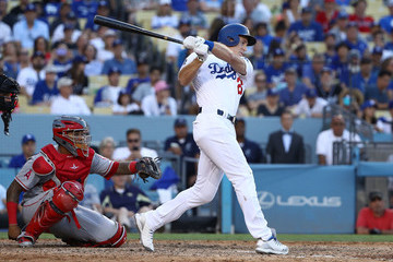 Chase Utley Los Angeles Angels Of Anaheim vs. Los Angeles Dodgers
