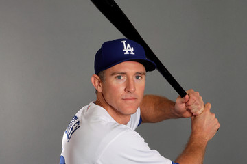 Chase Utley Los Angeles Dodgers Photo Day
