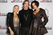 (L-R) Television personality Jessica Canseco, Celebrity Hair Stylist Chaz Dean, and television personality Nicole Murphy attend Chaz Dean's holiday party benefitting the Love is Louder Movement on December 1, 2012 in Los Angeles, California.