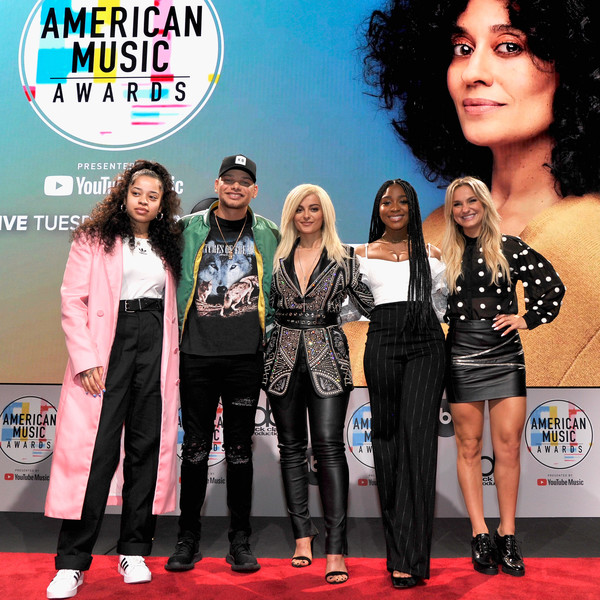 The '2018 American Music Awards' Nominations at YouTube Space LA