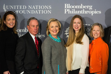 Chelsea Clinton Hillary Clinton and Michael Bloomberg Team Up