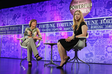 Chelsea Clinton Pattie Sellers FORTUNE Most Powerful Women Summit: Day 3