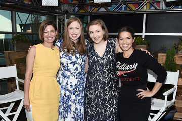 Chelsea Clinton Glamour and Facebook Host Conversation With Cindi Leive, Chelsea Clinton, Lena Dunham, America Ferrera at the Democratic National Convention
