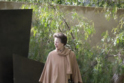 Princess Anne walks through the Telegraph Garden as she attends the Chelsea Flower Show press day at Royal Hospital Chelsea on May 23, 2016 in London, England. The show, which has run annually since 1913 in the grounds of the Royal Hospital Chelsea, is open to the public from 24-28 May.