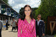 Linzi Stoppard attends Chelsea Flower Show press day at Royal Hospital Chelsea on May 23, 2016 in London, England. The prestigious gardening show features hundreds of stands and exhibition gardens.