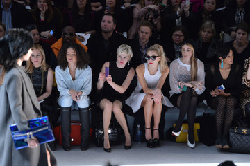 Chelsea Leyland Milly By Michelle Smith - Front Row - Fall 2013 Mercedes-Benz Fashion Week