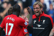 Mamadou Sakho and Jurgen Klopp Photos Photo