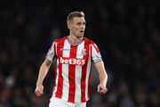 Darren Fletcher of Stoke City during the Premier League match between Chelsea and Stoke City at Stamford Bridge on December 30, 2017 in London, England.