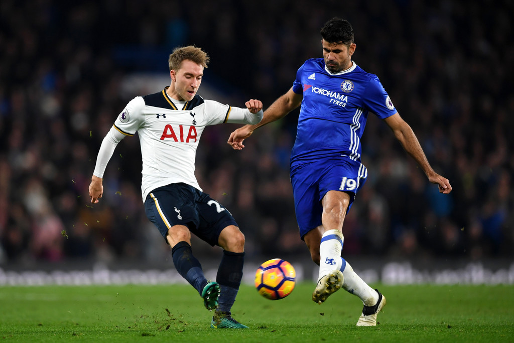 Tottenham Vs Chelsea: Christian Eriksen Photos Photos