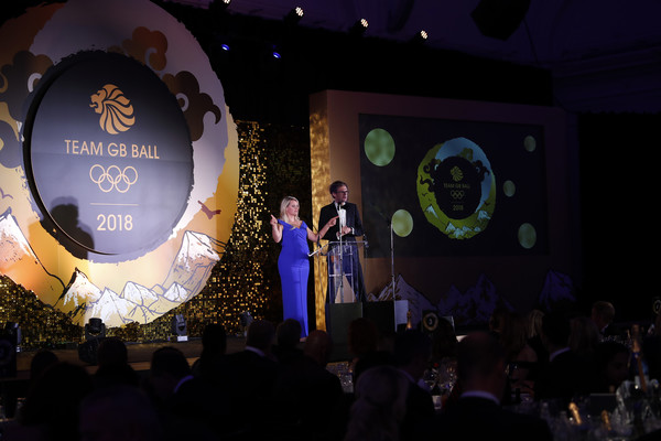The Team GB Ball 2018 [performance,event,stage,fashion,crowd,design,audience,convention,fun,night,chemmy alcott,mark dolan,team gb ball,london,england,the royal horticultural halls,team gb ball 2018]