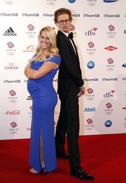 The Team GB Ball 2018 [red carpet,carpet,red,formal wear,flooring,event,suit,premiere,electric blue,award,chemmy alcott,mark dolan,team gb ball,london,england,the royal horticultural halls,team gb ball 2018]