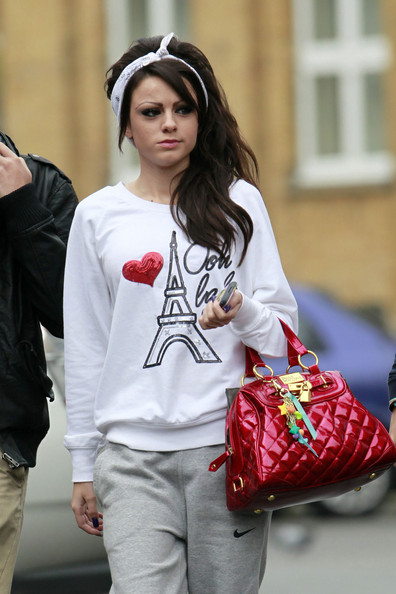 cher lloyd tattoo. Cher Lloyd vamped up sweat