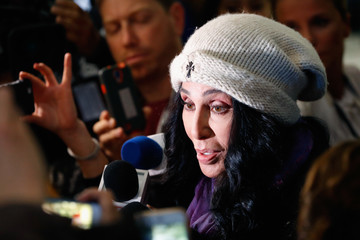Cher Democratic Presidential Nominee Hillary Clinton Holds Election Night Event In New York City