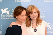 Kristin Scott Thomas and Isabelle Carre Photos Photo