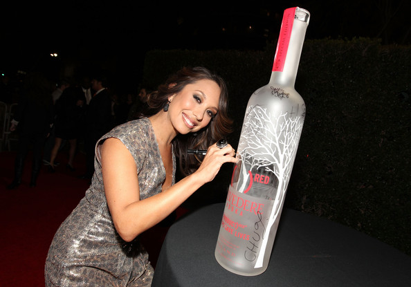 cheryl burke photos photos belvedere red launches with usher red carpet zimbio. Black Bedroom Furniture Sets. Home Design Ideas
