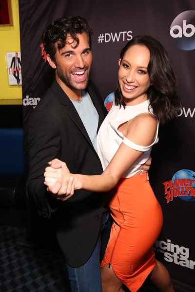 'Dancing With The Stars' Season 27 Cast Reveal Red Carpet At Planet Hollywood Times Square