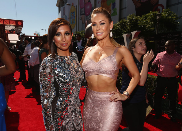 Arrivals at the ESPYS — Part 3 [arrivals,dancers,cheryl burke,kym johnson,red carpet,carpet,premiere,flooring,beauty,fashion,event,dress,haute couture,model,california,los angeles,nokia theatre l.a. live,espys,l]
