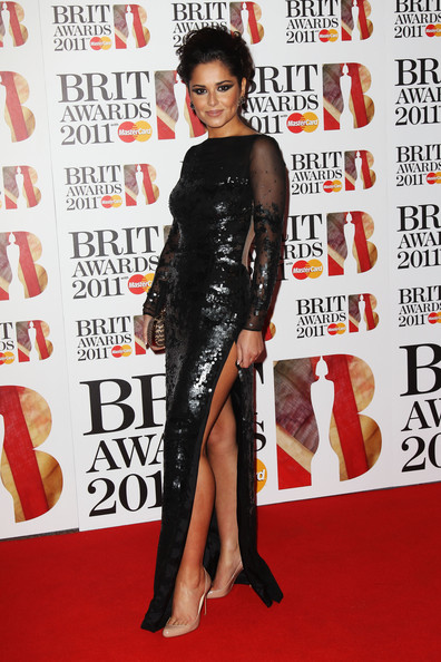 Cheryl Cole (UK TABLOID NEWSPAPERS OUT) Singer Cheryl Cole attends The Brit Awards 2011 held at The O2 Arena on February 15, 2011 in London, England.