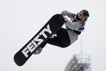 Cheryl Maas FIS Snowboard World Cup 2016/17 - Day 2