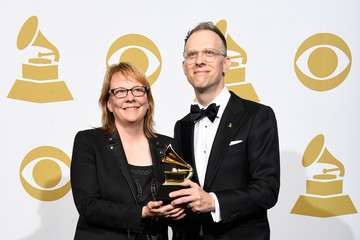 Cheryl Pawelski 57th GRAMMY Awards - Press Room