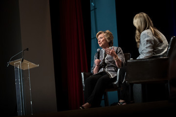 Cheryl Strayed Hillary Clinton Addresses Book Expo in New York City