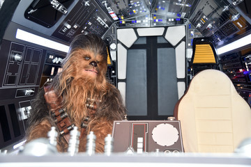 Chewbacca STARS Stars And Filmmakers Hold L.A. Press Conference For 'SOLO: A Star Wars Story'