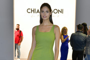 Bojana Krsmanovic attends the Chiara Boni front row during New York Fashion Week: The Shows at Gallery II at Spring Studios on September 07, 2019 in New York City.