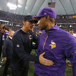 Leslie Frazier and Marc Trestman Photos
