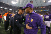 Leslie Frazier and Marc Trestman Photos Photo