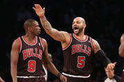 Luol Deng Carlos Boozer Photos Photo