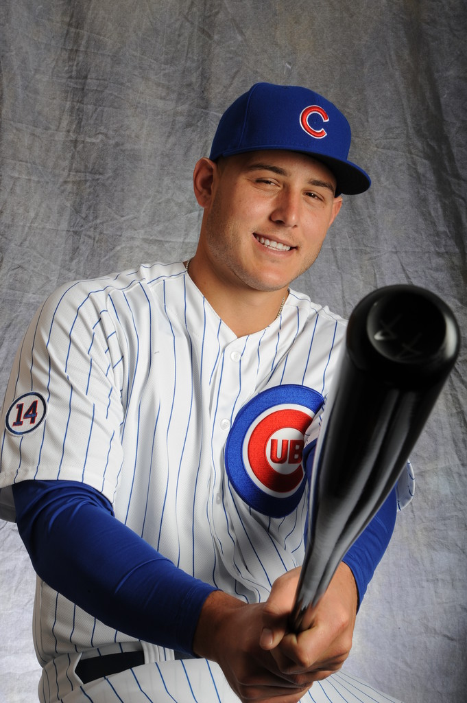 Anthony Rizzo Photos Photos Chicago Cubs Photo Day Zimbio