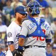 Justin Turner Willson Contreras Photos