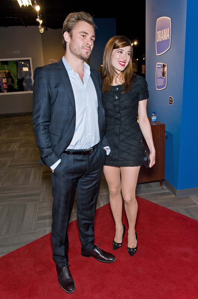 Patrick Flueger couple