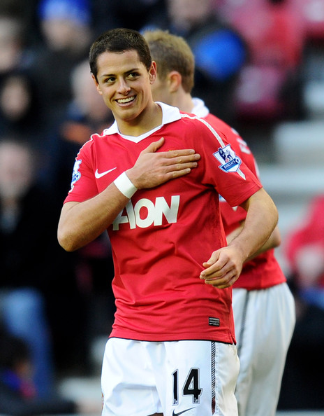 Chicharito - Wigan Athletic v Manchester United - Premier League