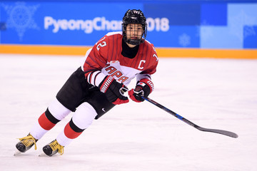 Chiho Osawa Ice Hockey - Winter Olympics Day 11